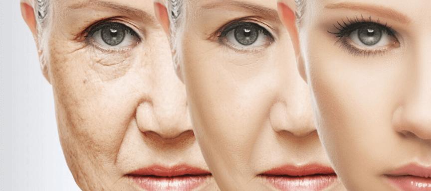 Deynique Cosmetica - lees over huidveroudering door de overgang.